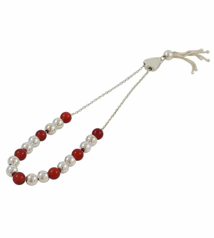Ασημένιο κομπολόι - Silver worry beads