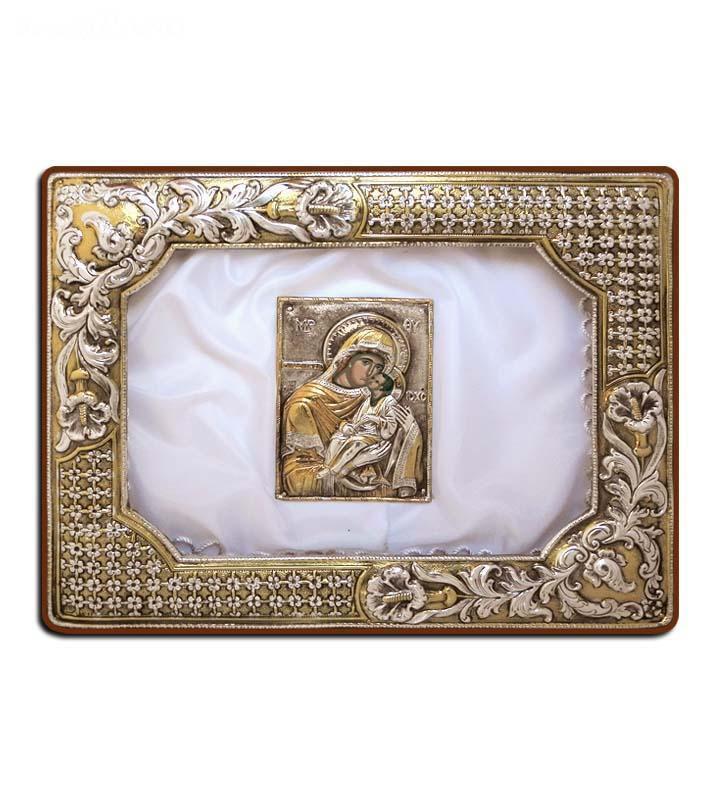 Ασημένια Στεφανοθήκη - Silver wedding crown case - Ларчики для хранения брачных венцов