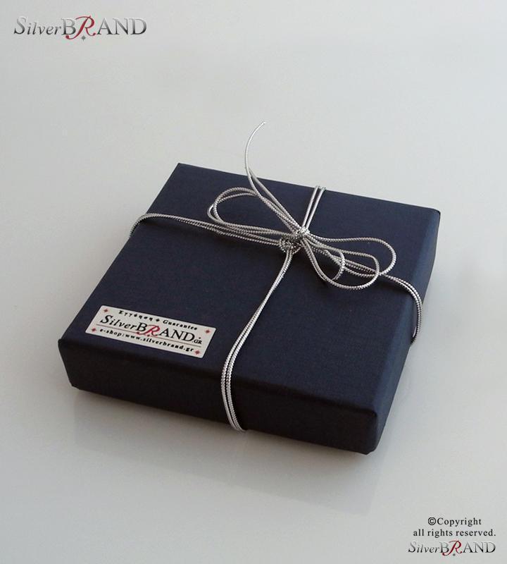Ασημένιο Δωρο για Μώρα- Silver baby rattle