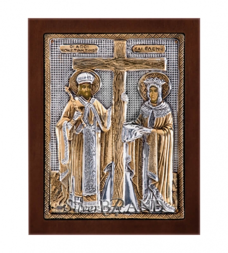 Orthodox_Silver_Icon_St.Constantine_&_St.Helen_Святые_Константин_И_Елена_c:66181471_187b_a