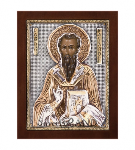 Orthodox_Silver_Icon_Saint_Basilios_Святой_Василий_c:68181471-181B_a