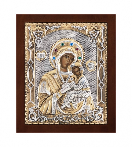 Orthodox_Silver_Icon_Virgin_Mary_Богородица_c:43221871 -216B_a